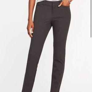 🌸 NWT Pixie Mid-Rise Grey Pant